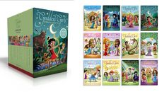 Mount Olympus Academy is the place to be—and you can hang with goddess girls of all sorts when you snag this collection of the first twelve books in the hit series! Includes a Goddess Girls inspired bracelet!