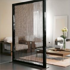 LET'S STAY: Creative see through room divider partition ideas