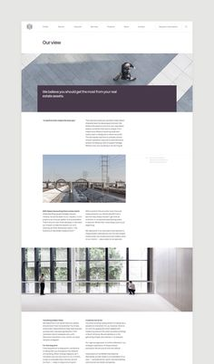 Website design and build by London-based Socio Design for space accounting…