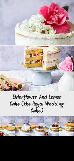 royal wedding cakes Elderflower, Lemon and Summer Berry Cake (The Royal Wedding Cake) Southern Wedding Cakes, Italian Wedding Cakes, Wedding Cake Rustic, Fall Wedding Cakes, White Wedding Cakes, Summer Wedding, Berry Cake, Wedding Cake Flavors, Cake Trends
