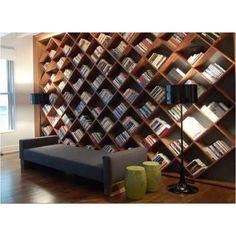 Impressive personal library