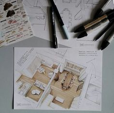 Interesting Find A Career In Architecture Ideas. Admirable Find A Career In Architecture Ideas. Interior Architecture Drawing, Architecture Drawing Sketchbooks, Architecture Concept Drawings, Drawing Interior, Interior Design Sketches, Interior Rendering, Sketch Design, Interior Design Inspiration, Architecture Design