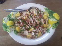 zuurkoolsalade met ananas