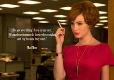 Christina Hendricks as Joan Holloway in Mad Men. Never seen the show, like the hair though. Christina Hendricks, Good Girl, Gossip Girl, Mad Men Mode, Joan Mad Men, Mad Men Joan Holloway, Mad Men Season 5, Joan Harris, Elle Mexico