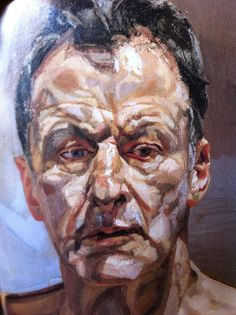 Lucien Freud self portrait