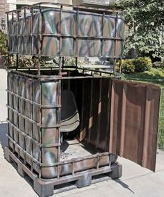 reuse hunting deer stand recycle - Google Search