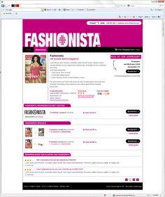 Fashionista webshop