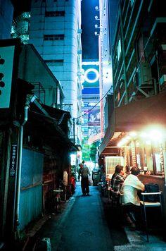 Tokyo night blue / Kei Yoshimizu.
