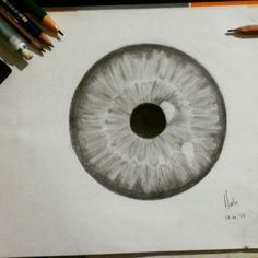 Eyeball drawing | I drew this today ☺