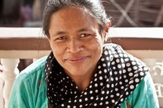 Meet Maya, a Nepali women rescued from sex trafficking who now makes beautiful jewelry and scarves!