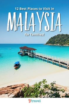 12 of the best things to do In Malaysia for family fun. Including tips on the best places to visit in Malaysia, and the best hotels in Malaysia to stay at. Don't visit Malaysia until you have read this Malaysia travel guide. There are so many more places to visit than Kuala Lumpur! Planning tips for experiencing the food, culture, beaches, and things to do in Malaysia, this is a great guide! #Malaysia #Asia #travel #traveltips #familytravel #Malaysiatravel