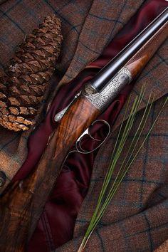 The Longleaf Gun | Garden and Gun - one of a kind quail gun