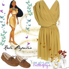 """""""Pocahontas"""" by kyrall ❤ liked on Polyvore"""