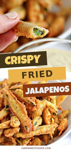 FRIED JALAPENOS Crispy fried jalapenos are the perfect party appetizer! Deep fried jalapenos in a beer batter and dipped in any number of savory sauces. The best fried jalapenos are sure to be a crowd pleaser! Gourmet Recipes, Mexican Food Recipes, Cooking Recipes, Healthy Recipes, Budget Recipes, Beer Food Recipes, Vegetarian Recipes, College Recipes, Microwave Recipes