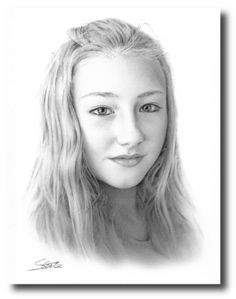 A4 Black/White Pencil Portraits from your photos £55 Click the link for more examples.