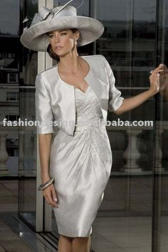 satin beaded Mother of brides dresses with jacket,special occasion dress MD012-in Evening Dresses from Apparel Accessories on Aliexpress.com $200.00