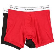 Calvin Klein Underwear Modern Cotton Stretch Boxer Brief (Regal... ( 21) ❤  liked on Polyvore featuring men s fashion 0bdb15d94ad
