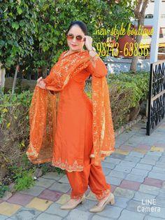 Punjabi Suits Party Wear, Punjabi Salwar Suits, Punjabi Suits Designer Boutique, Boutique Suits, Embroidery Suits Design, Embroidery Designs, Indian Dresses, Indian Suits, Designer Party Wear Dresses