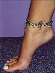 Chainmail Anklets Homepage- Silver Tiger Art- Jewelry, Armor, and Gothic Jewelry, Jewelry Art, Jewelry Accessories, Jewelry Design, Jewelry Ideas, Feet Jewelry, Ankle Jewelry, Instyle Fashion, Pretty Toes