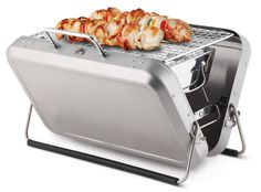 This briefcase is also a barbecue. | 17 Ways To Live Your Best Life This Summer