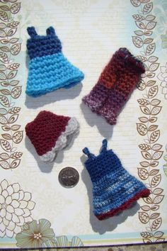 tiny clothes, free crochet pattern
