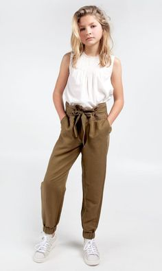 Natasha is our military-inspired pants. The pants has a quality of linen _ cotto… - Preteen Clothing Cute Outfits For School, Teenage Outfits, Cute Girl Outfits, Kids Outfits Girls, Junior Outfits, Cute Clothes For Kids, Hot Clothes, Clothes Shops, Tween Clothes For Girls