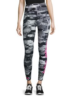 Betsey Johnson Floral Collage Printed Legging