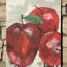 Fresh picked. Painting on canvas. Original painting $125. Prints available in multiple sizes. #staciekearnsart