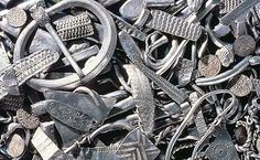 The Cuerdale (England) hoard of 8,600 Viking silver items buried about 905 and found in 1840 BBC article below for more info