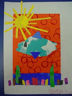Art inspired by Eric Carle