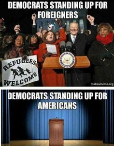They don't actually care about either they just want the illegal votes to be in power and be able to cover up the corruption and treason from there party