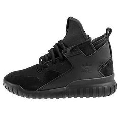 Adidas Tubular X Mens S74922 Core Black Athletic Shoes Casual Sneakers Size 8.5