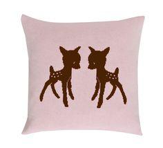 Pillow pink/brown