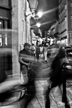 Jazz street Old San Juan By. Victor M. Ayala