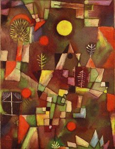Full moon, 1919 / Klee