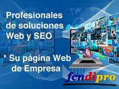 Diseño de Páginas Web a Empresas con Posicionamiento en los buscadores (SEO)