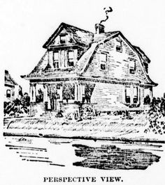 15 best old house plans images old houses old homes second floor Old Farmhouse colonial cottage house plans from 1906