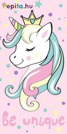 Cuki, unikornis mintával ellátott, igazi csajos törcsi, ami kellemes meleget biztosít fürdés és strandolás után.     Jellemzői:  - Anyaga: Pamut  - Minőség: I. osztály  - Mérete: 70 x 140 cm Beautiful Unicorn, Cute Unicorn, Rainbow Unicorn, Unicorn Painting, Unicorn Drawing, Unicorn Wallpaper Cute, My Little Pony, Unicornios Wallpaper, Disney Cars Birthday