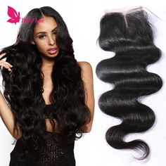 Top 7a Grade 1b# 100% Virgin Brazilian Hair Lace Closures Free Middle And 3part Body Wave Human Hair Lace Closure Bleached Knots From Babilhair, $13.58 | Dhgate.Com