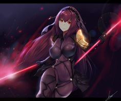 Exotication... | Lancer Scathach by Hews-HacK