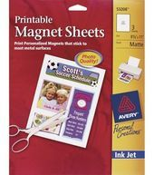 Ink jet printable magnetic sheets by goodhouse1968 on Etsy, $10.00