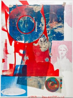 Find the latest shows, biography, and artworks for sale by Robert Rauschenberg. Robert Rauschenberg's enthusiasm for popular culture and, with his contempora… Pop Art Collage, Collage Drawing, Collage Art Mixed Media, Collage Artists, Dada Collage, Image Collage, Robert Rauschenberg, Collages, Joan Mitchell