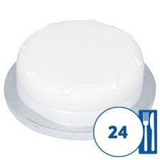tesco plain white wedding cake just the sort of cake to add celebration fruit cake 20799