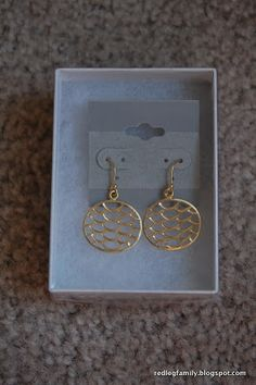 Stitch Fix #6 - Circle Enclosed Scale Earrings by 41Hawthorn