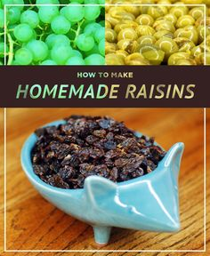 How to Make Organic Raisins. Step by step with photos on how do prepare and dry grapes to preserve them for years as tasty and sweet raisins. A great project for kids and adults alike! This method was done in an oven, but you can use these tips when using a dehydrator or even the sun! I used Niagara grapes, but most any grape will work, even seeded ones for an extra crunch and some heart-healthy nutrition.