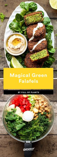 1. Magical Green Falafel #greatist https://greatist.com/eat/falafel-recipe-for-every-type-of-eater