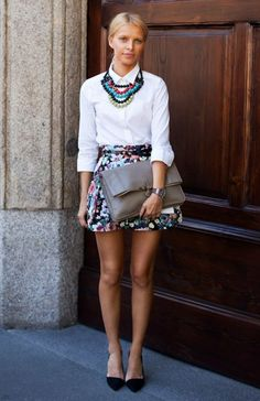 necklace & skirt