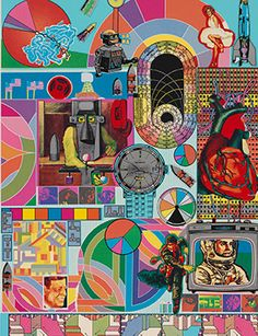 Artdaily.org - The First Art Newspaper on the Net; Eduardo Paolozzi, B.A.S.H., 1971. © Eduardo Paolozzi. From the Collection of the Alvin Boyarsky Archive.