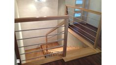 Schody Dywanowe - zdjęcie od Jarosz-schody Modern Stair Railing, Modern Stairs, Small Room Decor, Small Rooms, Easy Home Decor, Beautiful Interiors, Sweet Home, Woodworking, Inspiration