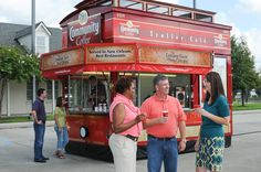 Track our Trolley for a free cup!